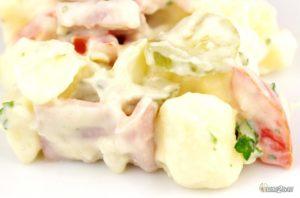 recette cétogène salade froide piémontaise