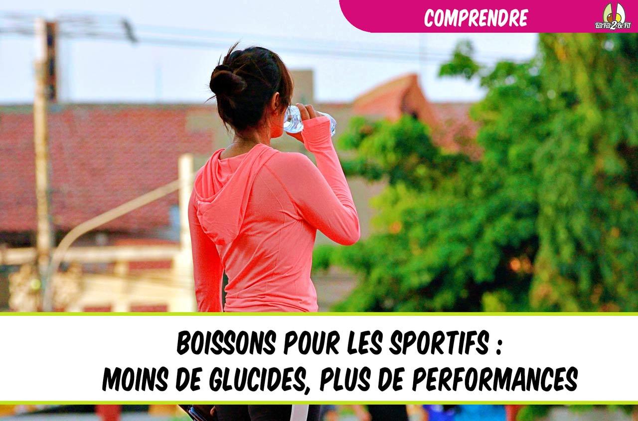 sport hydratation moins de glucides plus de performance