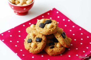 recette cétogène pour le goûter des cookies au chocolat et à la noix de macadamia