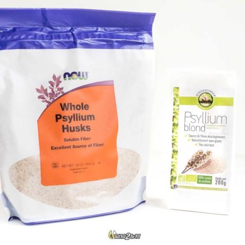 Astuce pour l'alimentation cétogène : Des fibres avec le Psyllium