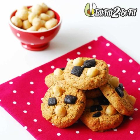 Recette cétogène : Les Cookies LCHF d'Ulrich