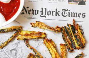régime cétogène frites de courgette au four
