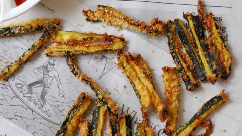 Recette cétogène : Les frites de courgette