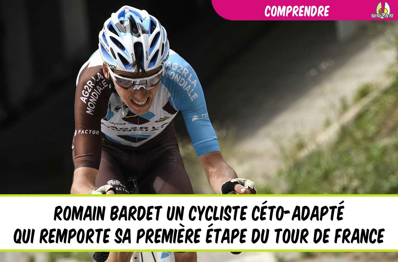 romain bardet cyclisme céto-adapté vespa power