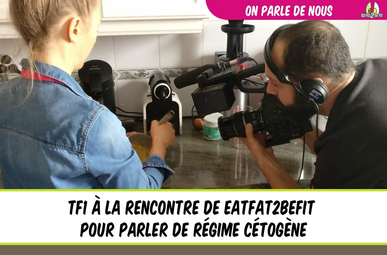 TF1 à la rencontre de EatFat2BeFit dans l'émission 50 minutes inside