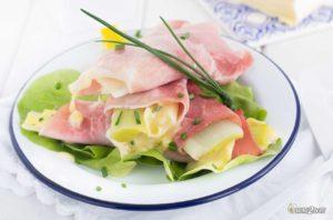 régime cétogène recette roulés poireau jambon fromage pont l'évêque