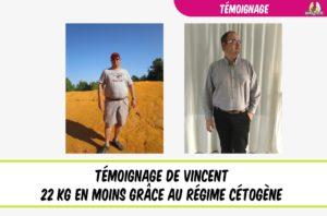 témoignage de vincent régime cétogène et perte de poids