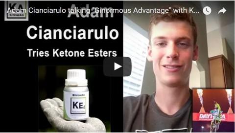 Adam Cianciarulo utilise l'ester de cétone KetoneAid
