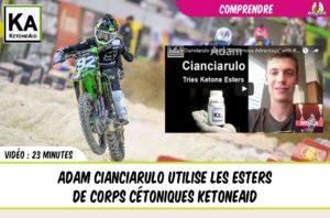 Adam cianciarulo et les esters de corps cétoniques KetoneAid