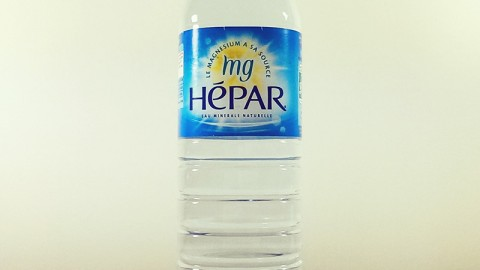 Astuce pour le transit : Boire de l'Hépar