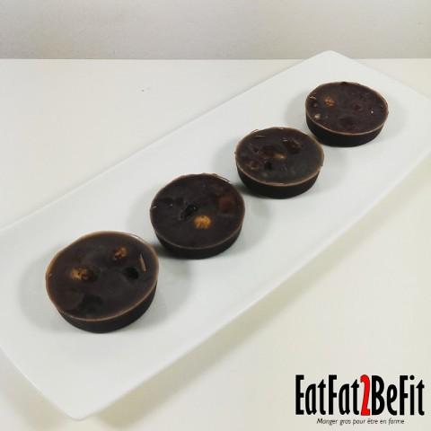 Recette cétogène : Fat bomb Chocolat et Huile de Coco