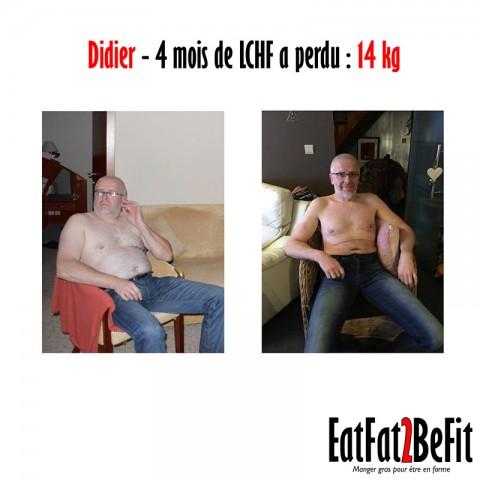 Témoignage de Didier, vétérinaire résidant en Belgique qui vient de perdre 14 kilos en 4 mois