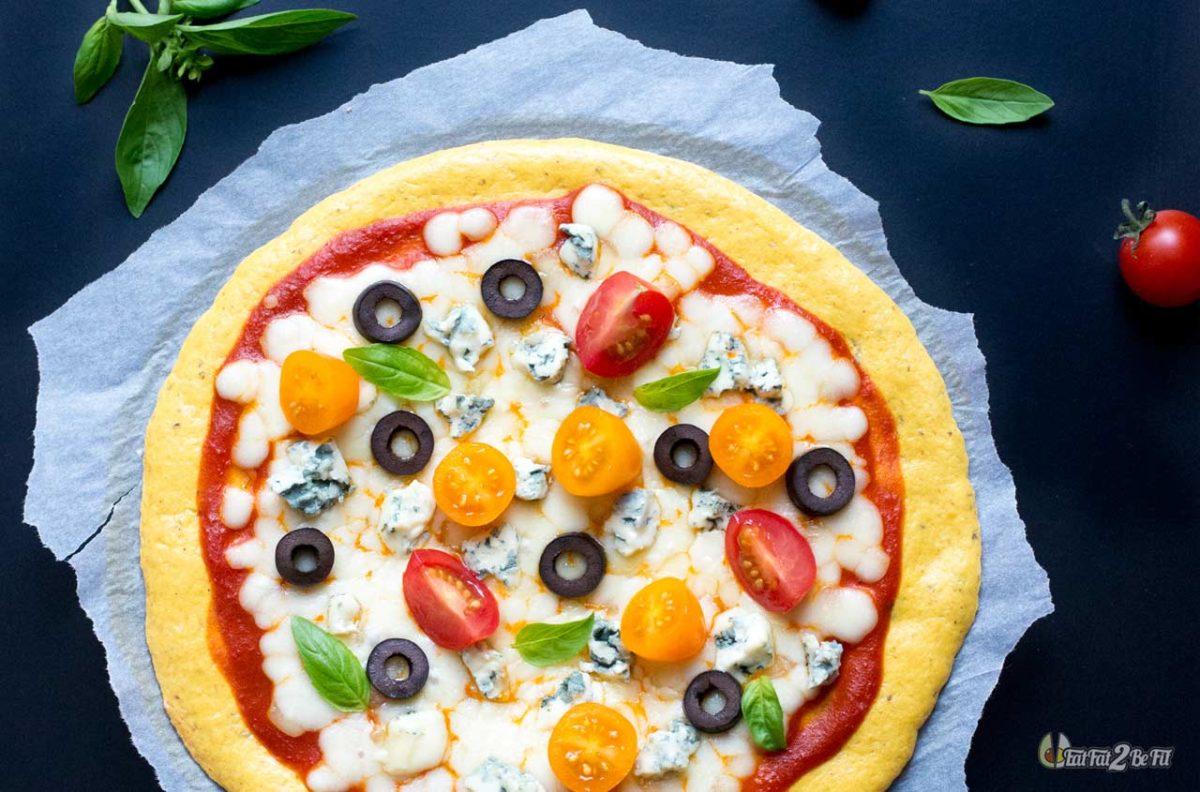 régime cétogène recette pizza au lupin express et facile sans gluten
