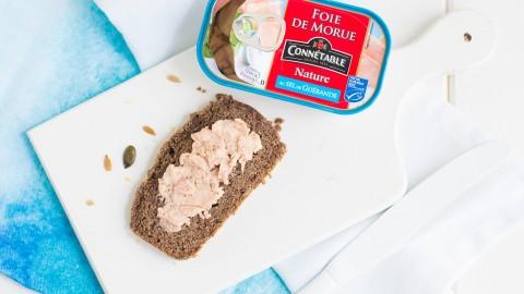Astuce régime cétogène : Le foie de morue au petit déjeuner