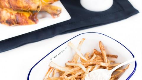 Frites LCHF / cétogènes … à la friteuse !