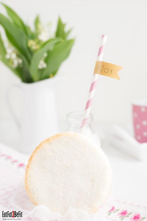 Macaron coco (sans sucres et sans gluten): 2 ingrédients pour 1 gourmand !