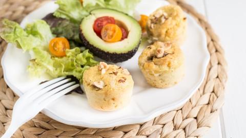 Mini muffins LCHF au fromage (sans gluten)