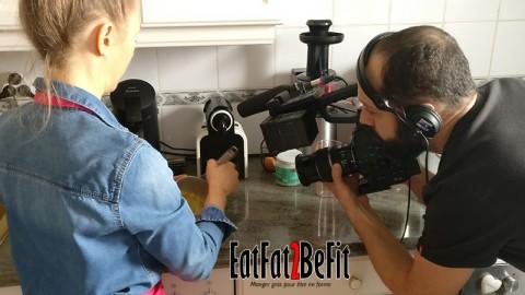TF1 à la rencontre de EatFat2BeFit pour parler de l'alimentation LCHF
