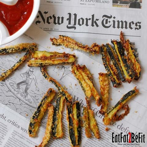 Les frites de courgettes
