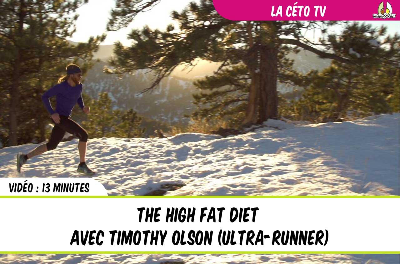 Timothy olson régime cétogène ultra runner running