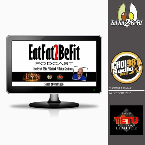 RadioX au Québec interview Ulrich Genisson de EatFat2BeFit