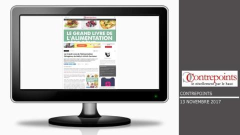 Le magazine en ligne Contrepoints parle de notre ouvrage