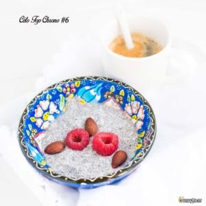 #06 graines de chia - lait végétal - vanille - framboise - amande - café gras