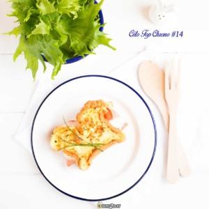 #14 pain lchf - jambon blanc - morbier - crème fraiche - ciboulette - tomate - reine des glaces