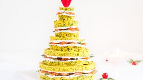 Sapin de Noël : Apéro céto (sans gluten)