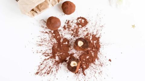 Recette cétogène : Les truffes LCHF au chocolat, orange et coeur noisette (sans lactose)