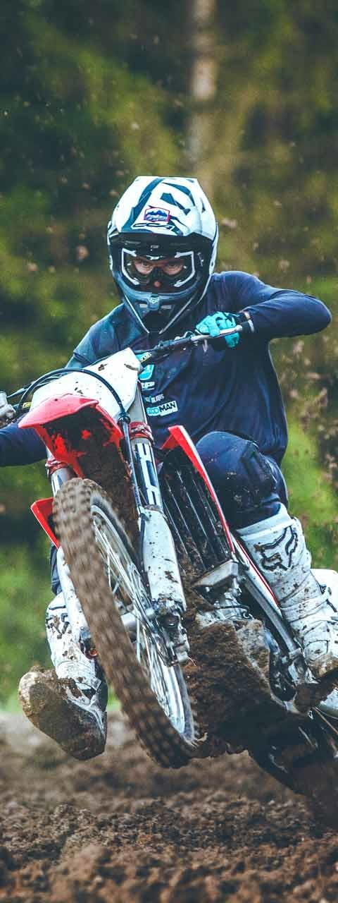 Pierrick Paget et sa Honda CRF 2018