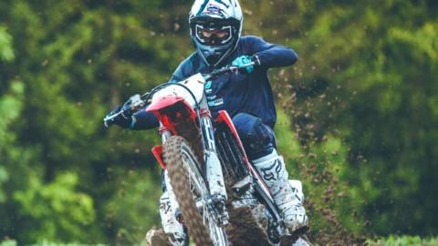 Parrainage de Pierrick Paget pour EatFat2BeFit et le Motocross