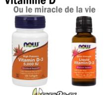 VITAMINE D ou le miracle de la vie