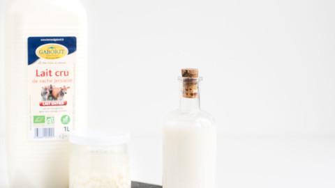 Guide exclusif : Le Kéfir de lait en régime cétogène