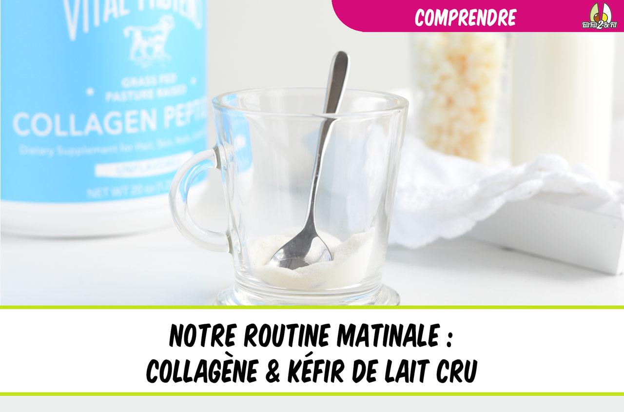 eatfat2befit régime cétogène notre routine matinale kéfir de lait collagène