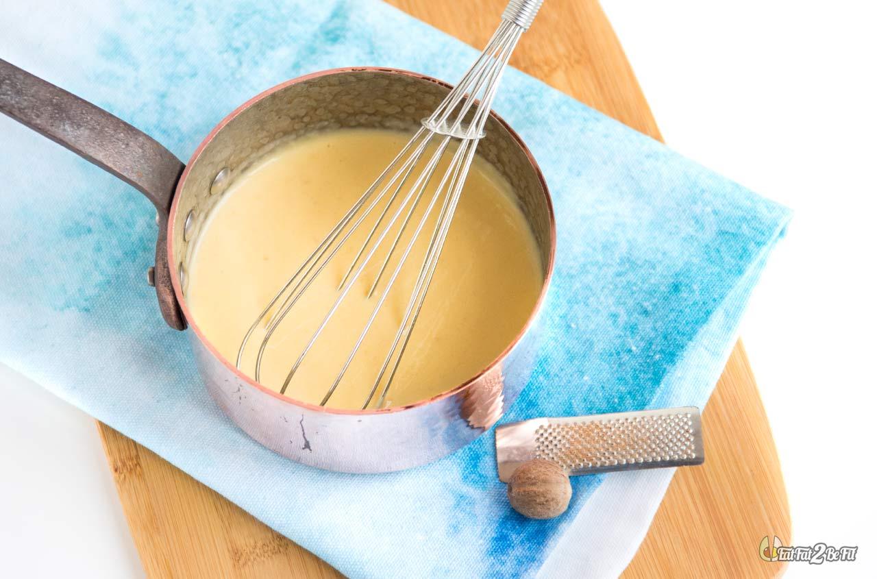 régime cétogène recette béchamel sans gluten