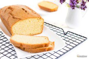recette cétogène le goûter des enfants le quatre quarts gâteau sans sucre