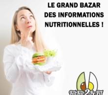 Pourquoi l'information nutritionnelle n'est pas fiable ?