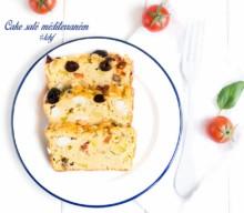 Cake salé méditerranéen #LCHF #SansGluten