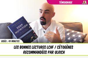les bonnes lectures cétogènes recommandées par ulrich génisson de eatfat2befit