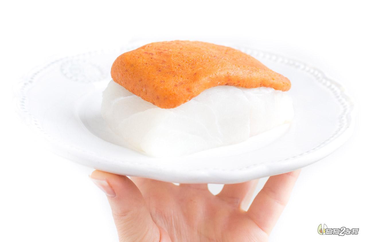 régime cétogène recette cabillaud croûte chorizo parmesan sans gluten