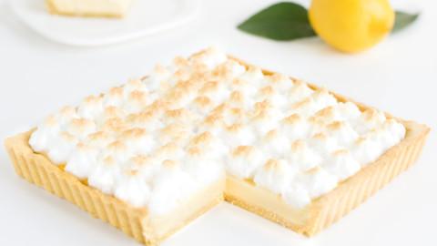 Tarte au citron meringuée Cétogène LCHF