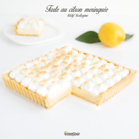 Tarte au citron meringuée #LCHF #cétogène