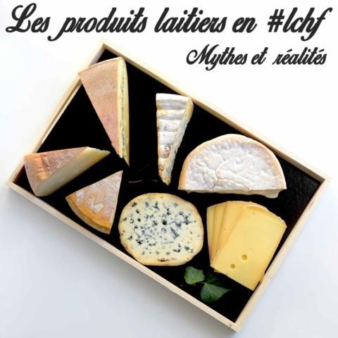 Les produits laitiers en régime cétogène LCHF – Mythes et réalités