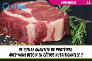 EatFat2BeFit quelle quantité de protéines en cétose nutritionnelle