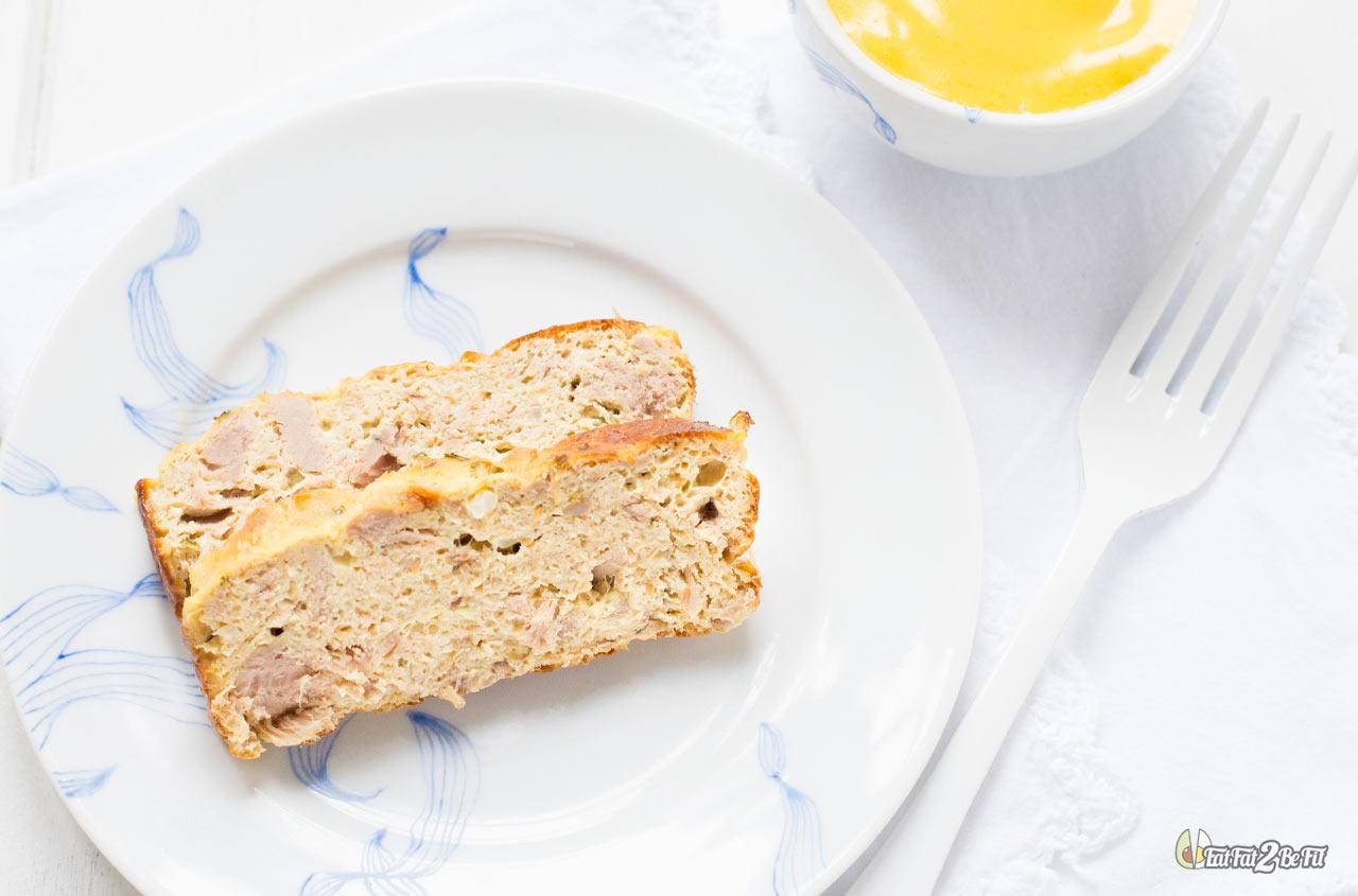 régime cétogène recette cake froid pain de thon emmental sans gluten