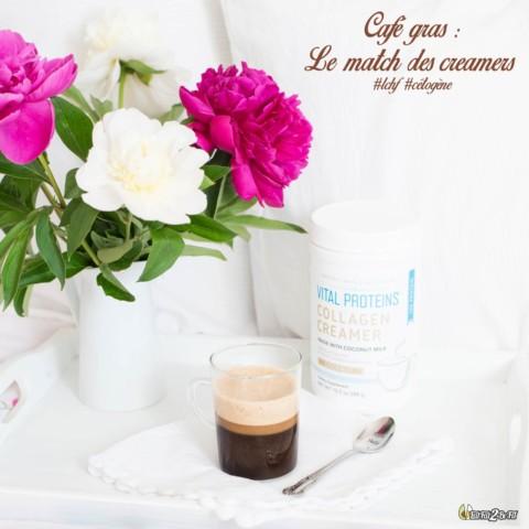 Café gras / Bulletproof coffee: Le match des creamers !