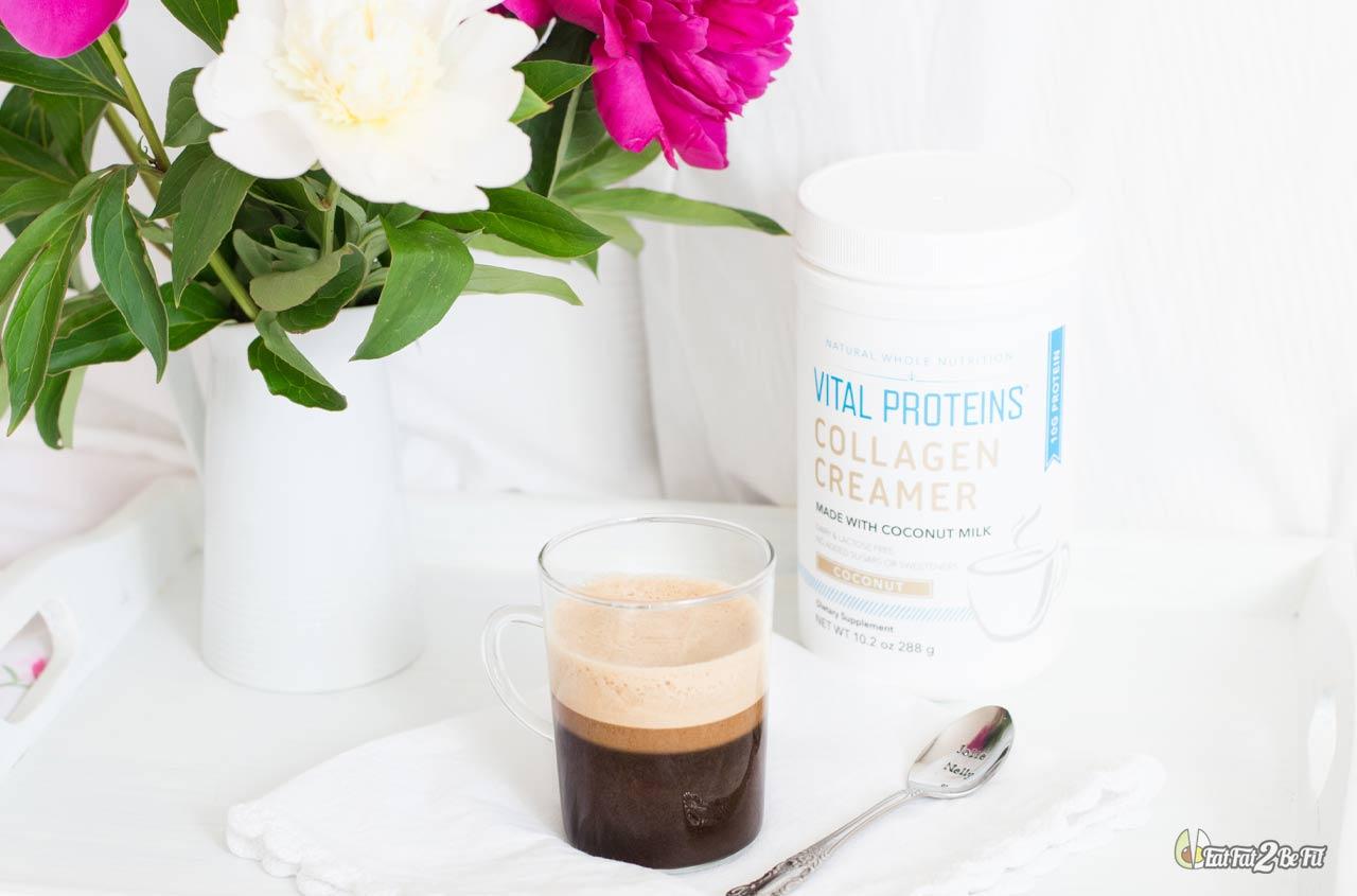 recette cétogène café gras bulletproof et creamer