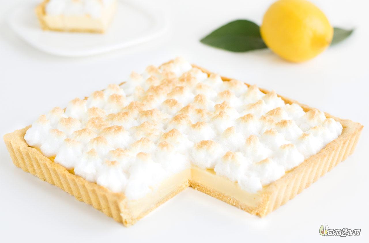 recette cétogène dessert tarte citron meringuée sans sucre