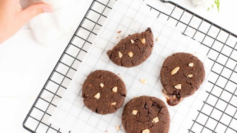 Cookies Pirouette Cacahuète #LCHF #SansGluten